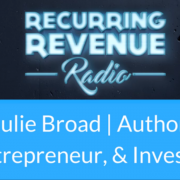 Julie Broad, the self published and Amazon best selling author discusses how to avoid Amazon bestseller autobots and bogus with Richard Chancy on Recurring Revenue Radio